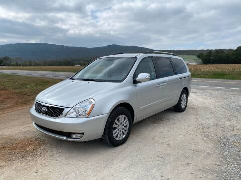 2014 Kia Sedona for sale at Tennessee Valley Wholesale Autos LLC in Huntsville AL