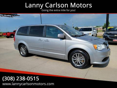 2015 Dodge Grand Caravan for sale at Lanny Carlson Motors in Kearney NE