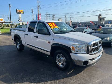 2007 Dodge Ram Pickup 2500 for sale at Texas 1 Auto Finance in Kemah TX