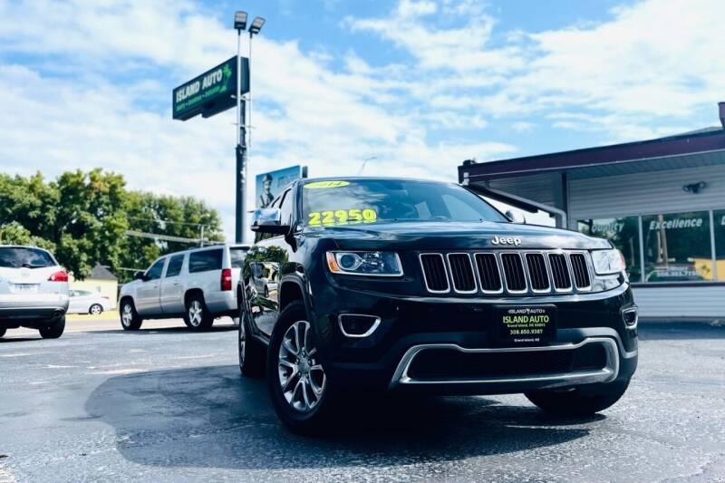 2014 Jeep Grand Cherokee for sale at Island Auto in Grand Island NE