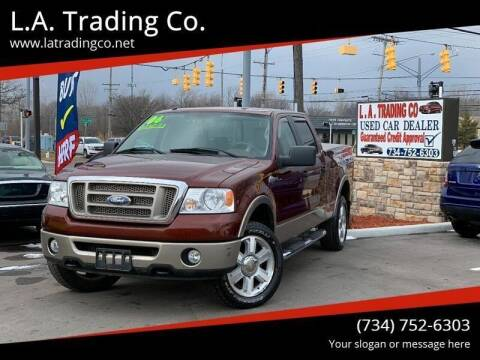 2006 Ford F-150 for sale at L.A. Trading Co. Woodhaven in Woodhaven MI