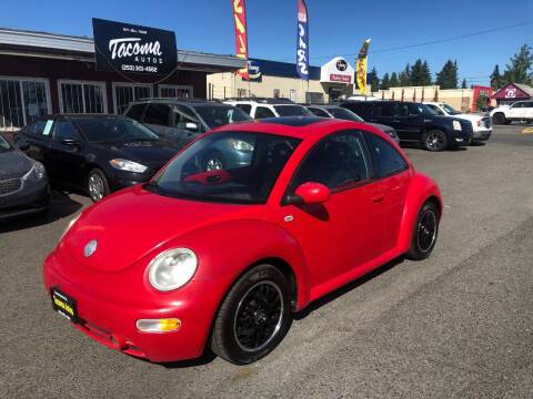 2002 Volkswagen New Beetle for sale at Tacoma Autos LLC in Tacoma WA