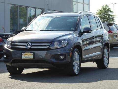 2013 Volkswagen Tiguan for sale at Loudoun Used Cars - LOUDOUN MOTOR CARS in Chantilly VA