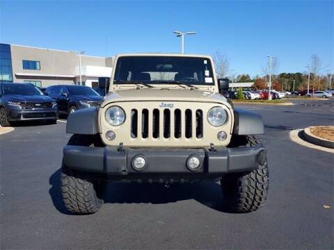 2017 Jeep Wrangler Unlimited for sale at Lou Sobh Kia in Cumming GA