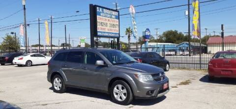 2012 Dodge Journey for sale at S.A. BROADWAY MOTORS INC in San Antonio TX
