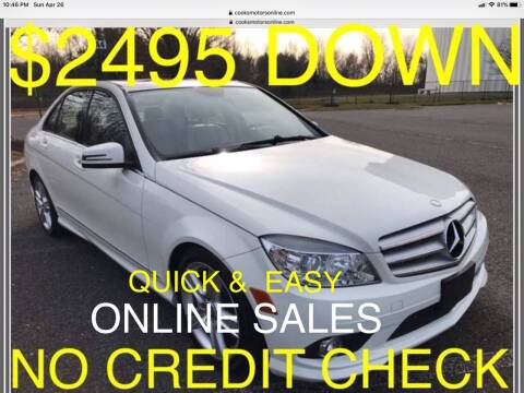 2010 Mercedes-Benz C-Class for sale at Cooks Motors in Westampton NJ