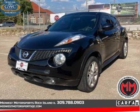 2014 Nissan JUKE for sale at MIDWEST MOTORSPORTS in Rock Island IL