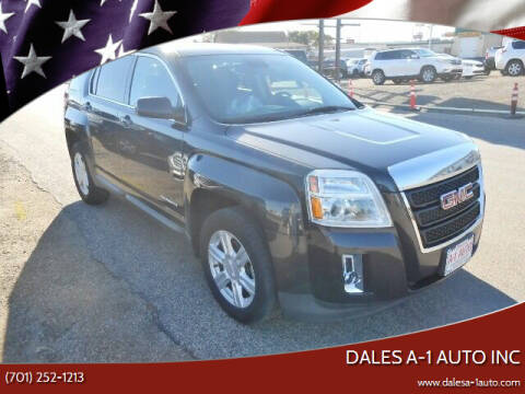 2014 GMC Terrain for sale at Dales A-1 Auto Inc in Jamestown ND