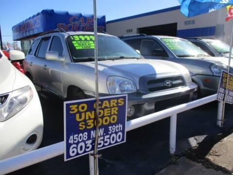 2005 Hyundai Santa Fe for sale at CAR SOURCE OKC in Oklahoma City OK