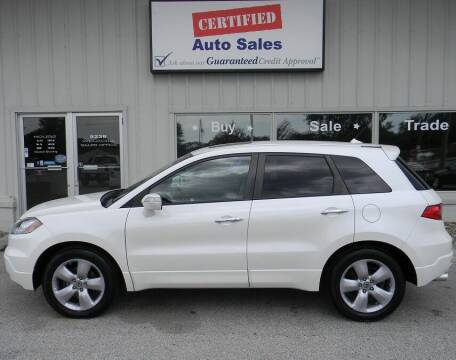 2007 Acura RDX for sale at Certified Auto Sales in Des Moines IA