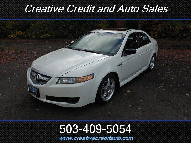 2006 Acura TL for sale at Creative Credit & Auto Sales in Salem OR