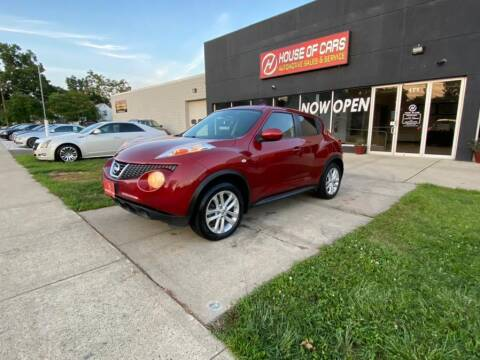 2014 Nissan JUKE for sale at HOUSE OF CARS CT in Meriden CT