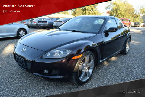 2005 Mazda RX-8 for sale at American Auto Center in Austin TX