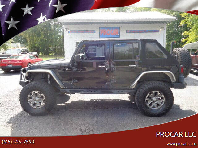 2008 Jeep Wrangler Unlimited for sale at PROCAR LLC in Portland TN