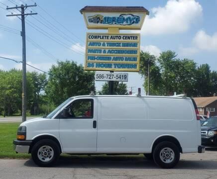 2016 GMC Savana Cargo for sale at JEREMYS AUTOMOTIVE in Casco MI