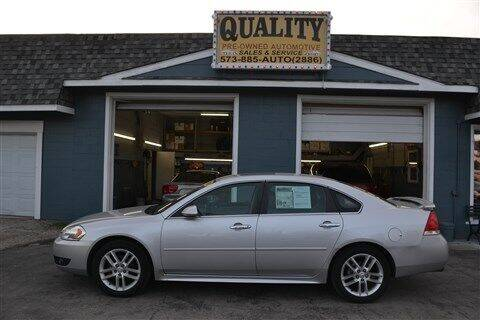 2013 Chevrolet Impala for sale at Quality Pre-Owned Automotive in Cuba MO