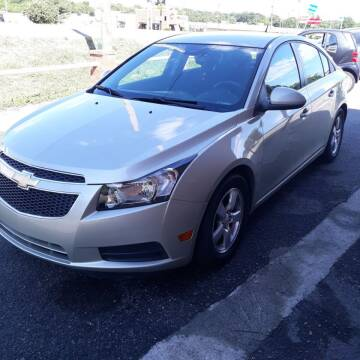 2013 Chevrolet Cruze for sale at 1A Auto Mart Inc in Smyrna TN