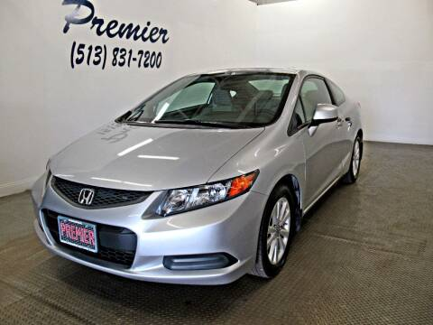 2012 Honda Civic for sale at Premier Automotive Group in Milford OH