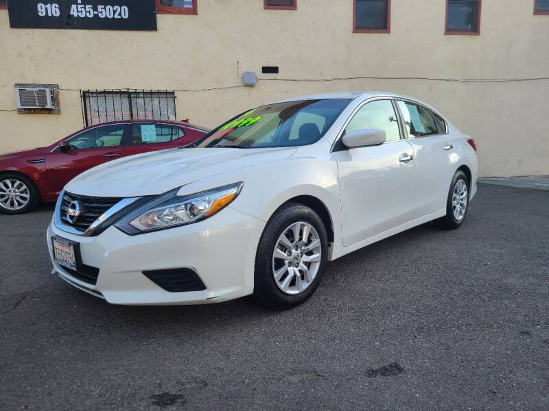 2016 Nissan Altima for sale at AUTOMEX in Sacramento CA