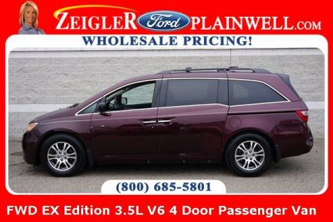 2011 Honda Odyssey for sale at Zeigler Ford of Plainwell- michael davis in Plainwell MI