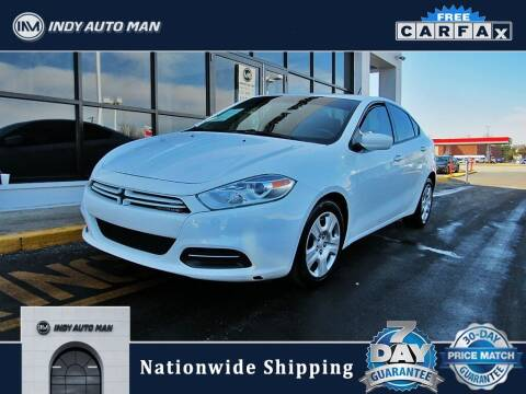 2016 Dodge Dart for sale at INDY AUTO MAN in Indianapolis IN