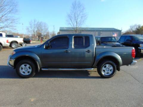 2005 Nissan Frontier for sale at CR Garland Auto Sales in Fredericksburg VA