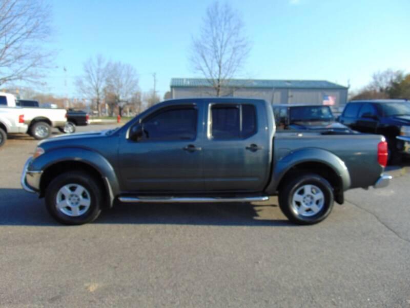 2005 Nissan Frontier for sale at CR Garland Auto Sales in Fredericksburg VA