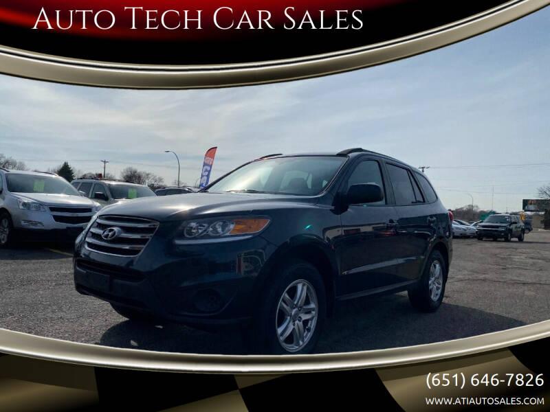 2012 Hyundai Santa Fe for sale at Auto Tech Car Sales in Saint Paul MN