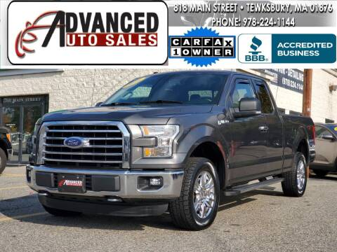 2016 Ford F-150 for sale at Advanced Auto Sales in Tewksbury MA