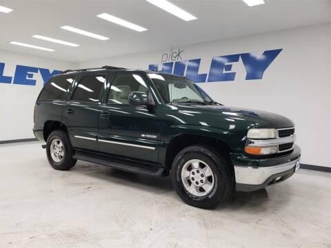 2003 Chevrolet Tahoe for sale at HILEY MAZDA VOLKSWAGEN of ARLINGTON in Arlington TX