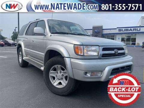 2000 Toyota 4Runner for sale at NATE WADE SUBARU in Salt Lake City UT