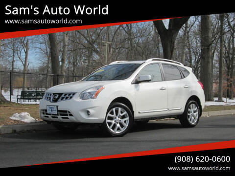 2012 Nissan Rogue for sale at Sam's Auto World in Roselle NJ