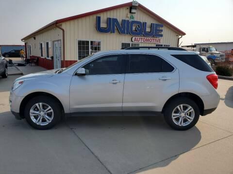 "2015 Chevrolet Equinox for sale at UNIQUE AUTOMOTIVE ""BE UNIQUE"" in Garden City KS"