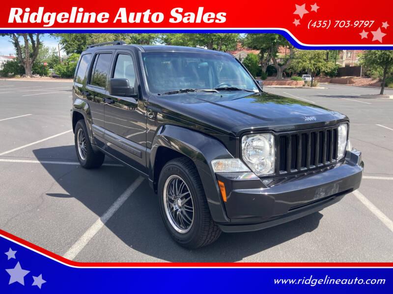 2011 Jeep Liberty for sale at Ridgeline Auto Sales in Saint George UT