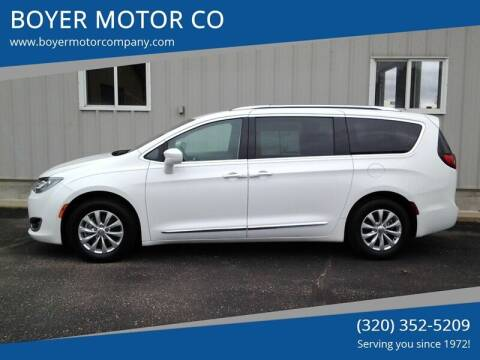 2018 Chrysler Pacifica for sale at BOYER MOTOR CO in Sauk Centre MN