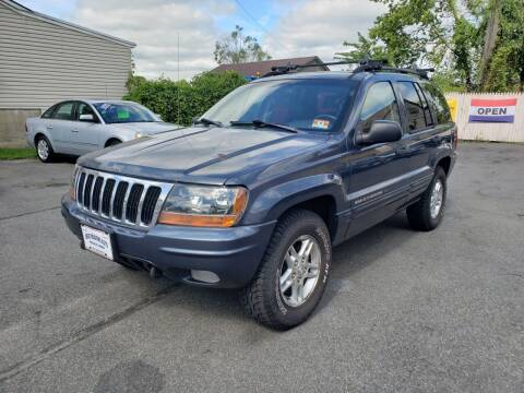 2002 Jeep Grand Cherokee for sale at GREAT MEADOWS AUTO SALES in Great Meadows NJ