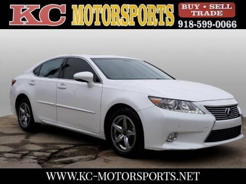 2013 Lexus ES 350 for sale at KC MOTORSPORTS in Tulsa OK