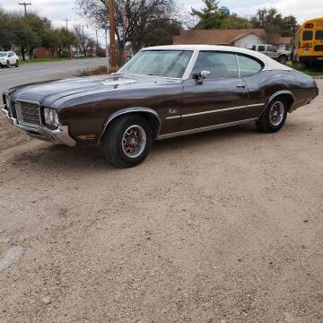 1971 Oldsmobile Cutlass Supreme for sale at CLASSIC MOTOR SPORTS in Winters TX