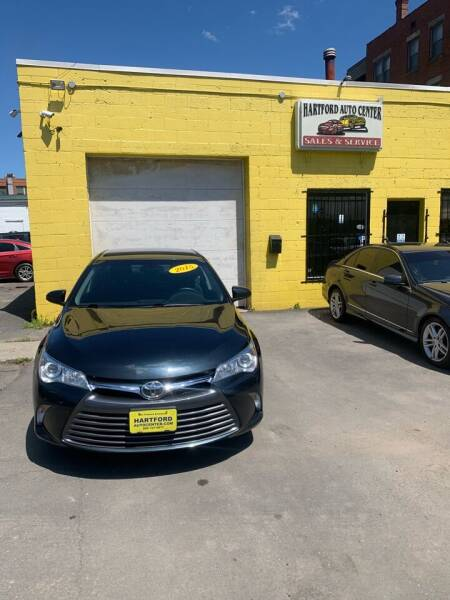 2015 Toyota Camry for sale at Hartford Auto Center in Hartford CT