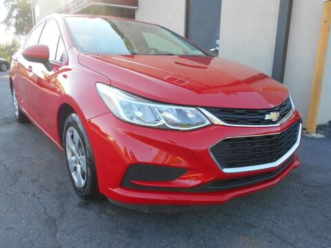 2018 Chevrolet Cruze for sale at AutoStar Norcross in Norcross GA