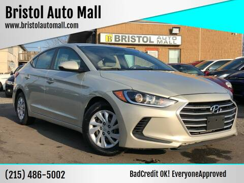 2017 Hyundai Elantra for sale at Bristol Auto Mall in Levittown PA