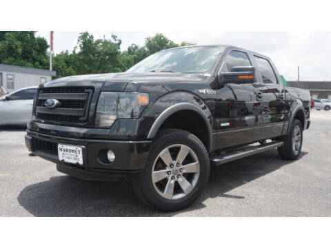 2014 Ford F-150 for sale at Maroney Auto Sales in Humble TX