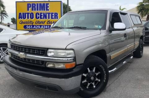 2001 Chevrolet Silverado 1500 for sale at PRIME AUTO CENTER in Palm Springs FL