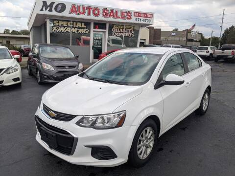 2019 Chevrolet Sonic for sale at Mo Auto Sales in Fairfield OH