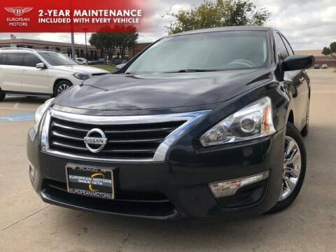2015 Nissan Altima for sale at European Motors Inc in Plano TX