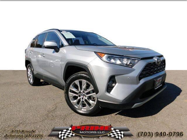 2019 Toyota RAV4 for sale at PRIME MOTORS LLC in Arlington VA