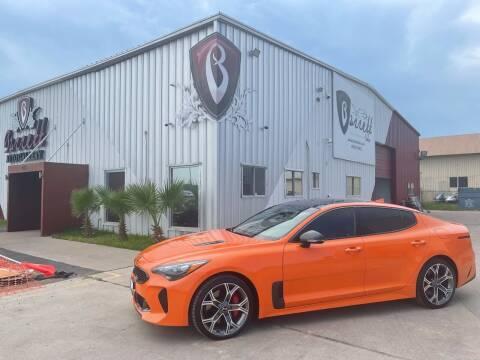 2019 Kia Stinger for sale at Barrett Auto Gallery in San Juan TX