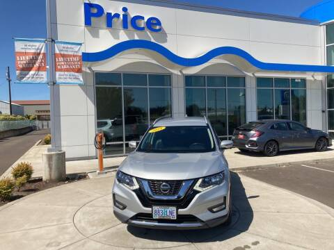 2018 Nissan Rogue for sale at Price Honda in McMinnville in Mcminnville OR