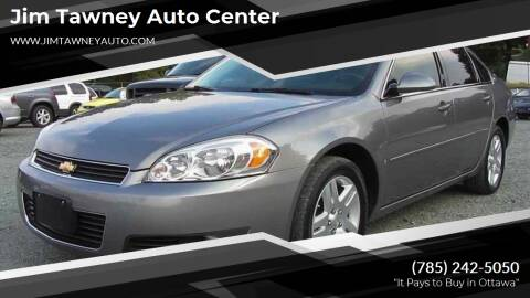 2008 Chevrolet Impala for sale at Jim Tawney Auto Center Inc in Ottawa KS