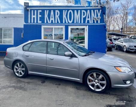 2008 Subaru Legacy for sale at The Kar Kompany Inc. in Denver CO